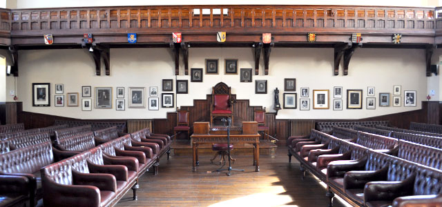 The Union's debating chamber